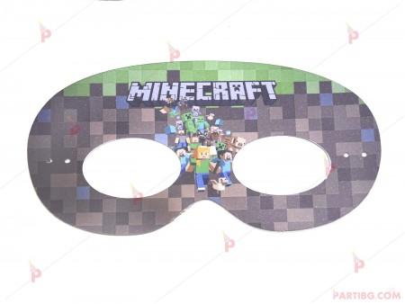 Ръчно изработена маска на Майнкрафт / Minecraft