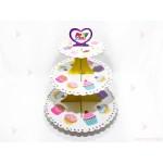Стойка/поставка за кексчета и сладки - с мъфини | 102PODARAKA.COM