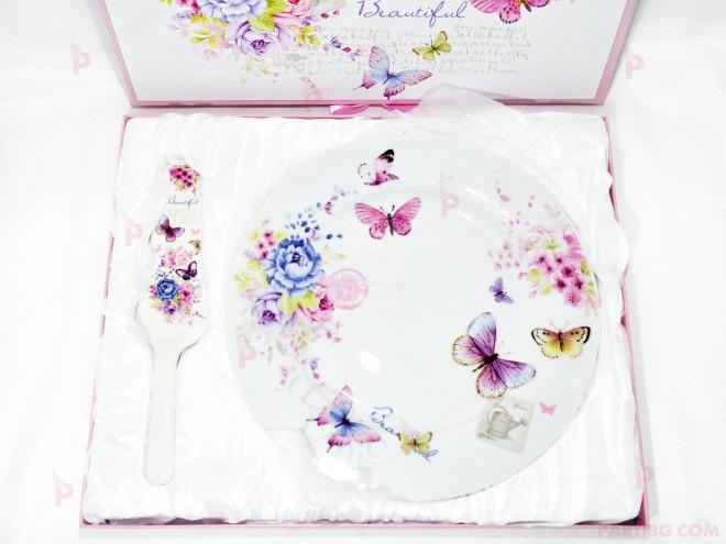 Плато със шпатула в луксозна кутия | 102PODARAKA.COM