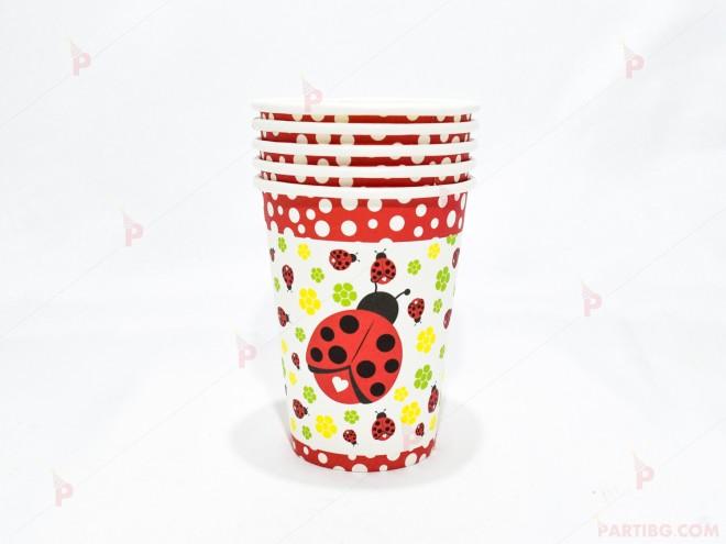 Чашки к-т 5бр. с калинки | 102PODARAKA.COM