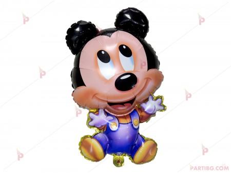 Фолиев балон бебе Мики маус