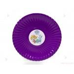 Чинийки едноцветни в лилаво с декор Пес Патрул / Paw Patrol-Скай и Еверест   102PODARAKA.COM