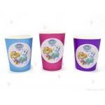 Чашки едноцветни в лилаво с декор Пес Патрул / Paw Patrol-Скай и Еверест | 102PODARAKA.COM