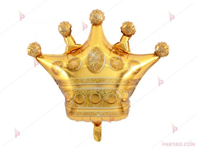 Фолиев балон във формата на корона | 102PODARAKA.COM